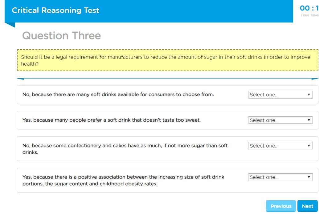 Capp Test de Raisonnement Critique Exemple Gratuit