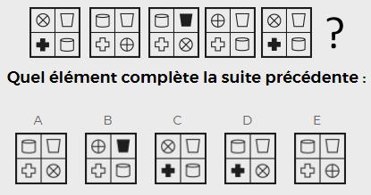 Cubiks Logiks Général Avancé Abstrait Question Exemple