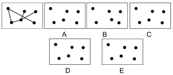 Exemple de test de raisonnement spatial 2D de cut-e