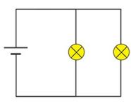 Exemple de circuit parallèle dans les exercices de raisonnement mécanique