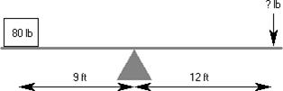Un exemple de levier dans les exercices de raisonnement mécanique