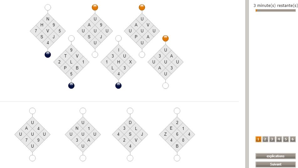 Test d'aptitude cut-e Crédit Agricole : test de découverte des rôles et des interrelations (scales cls)
